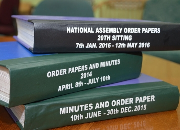 Order-papers