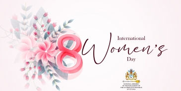 Happy international womens day 2021 from the parliament office.