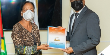 Eighth and ninth annual reports of the women  gender equality commission handed over to speaker nadir