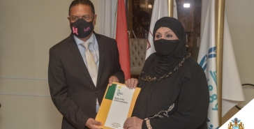 Rcc annual report 2017  2018 handing over